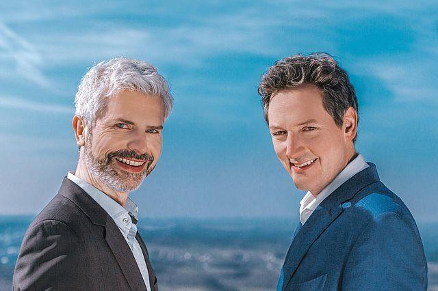 Dr. Eckart von Hirschhausen und Prof. Dr. Tobias Esch. Foto: Camillo-Wiz