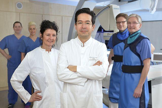 Das Team des Lehrstuhls für Klinische Radiologie