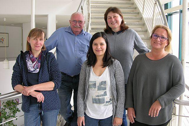 Mitarbeiterinnen und Mitarbeiter des Lehrstuhls
