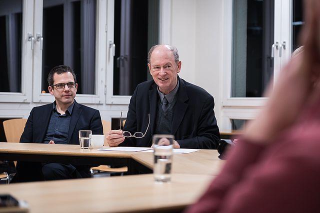 Prof. Dr. Joachim Zweynert (l.) und Prof. Dr. Birger Priddat