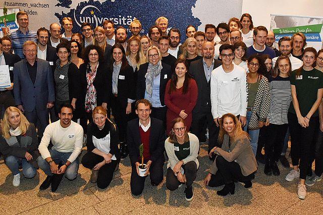 Gäste, Startups und Team des Wittener Preises für Gesundheitsvisionäre 2018
