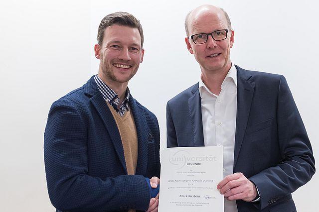 Mark Kirstein und Prof. Dr. Dirk Sauerland