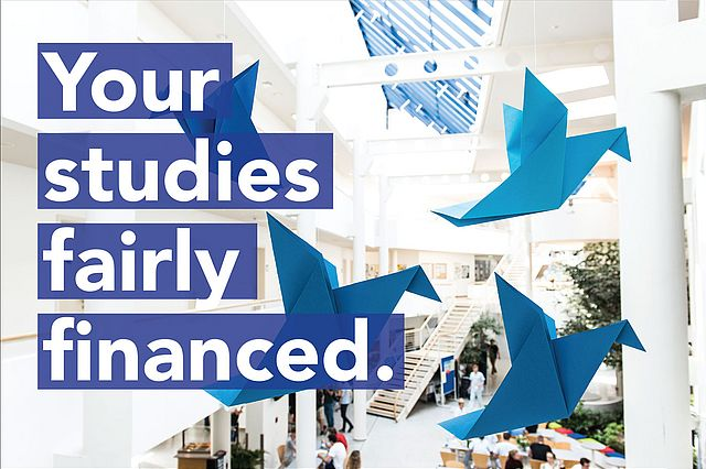 Your studies fairly financed