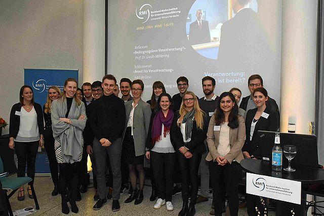 Teilnehmer Tag der Unternehmensführung