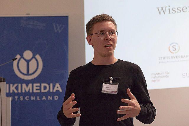Maximilian Heimstädt appointed Wikimedia 'Open Science Fellow'