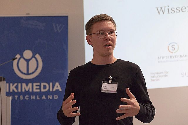 "Maximilian Heimstädt wird ""Open Science Fellow"" der Wikimedia"