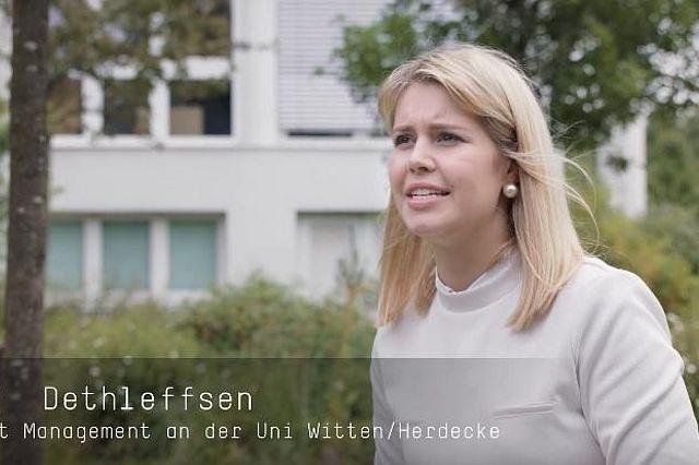 Management-Studentin Carla Dethleffsen im Interview