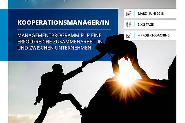 """Cooperation manager"" management programme"