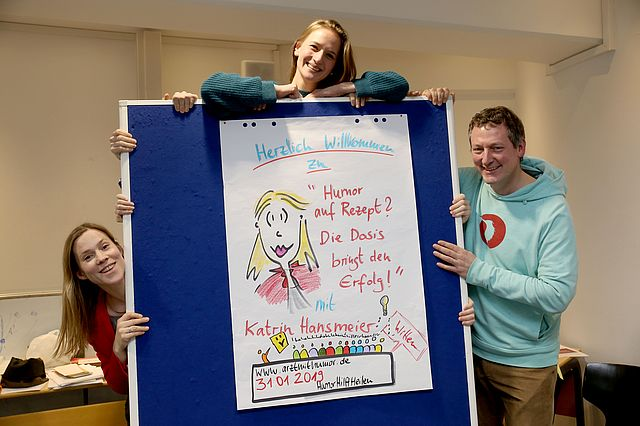 Humor-Workshop an der UW/H
