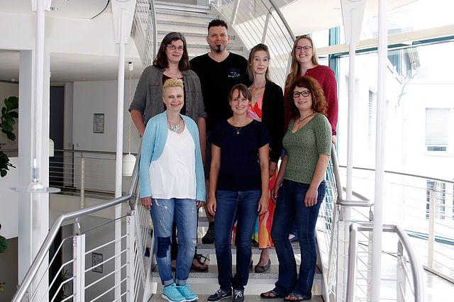 Team des Lehrstuhls für Neurobiologie und Genetik des Verhaltens