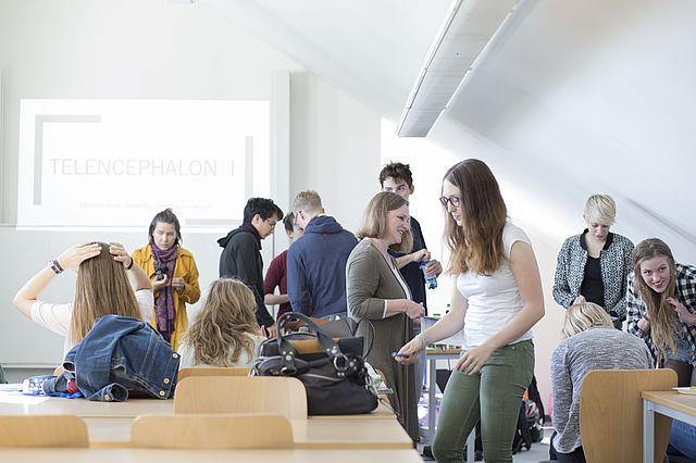Psychologie studieren in Witten - gute Betreuung und kleine Kurse