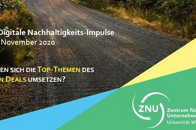 II. ZNU-Digitale Nachhaltigkeits-Impulse 2020