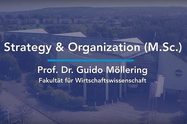 Wirtschaft studieren in Witten |Der Studiengangsverantwortliche Guido Möllering beantwortet Fragen zum Master Management Strategy & Organization M.Sc.