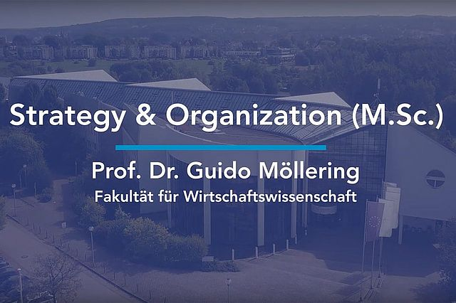 Teaser für den Studiengang Strategy & Organization M.Sc.