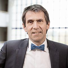 Prof. Dr. Martin Butzlaff, Präsident der Universität Witten/Herdecke