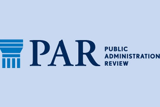 Logo Public Administration Review
