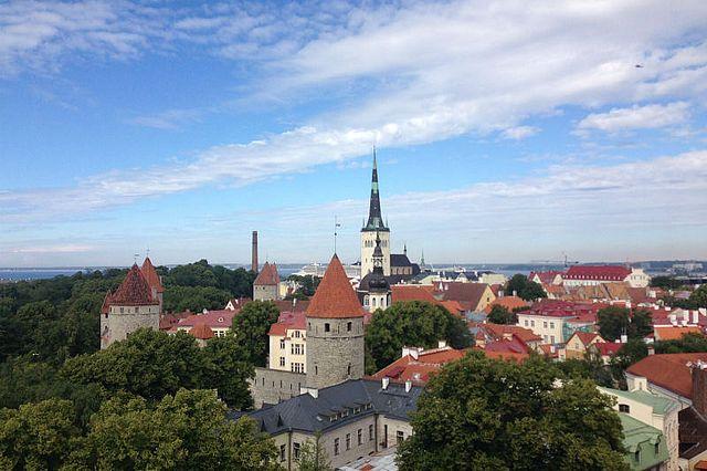 Blick über Tallinn (Foto: Simone Schiller-Merkens)