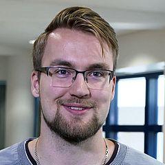 Eero Vähämöttönen, Erasmus-Student von der Lappeenranta University of Technology, Finnland