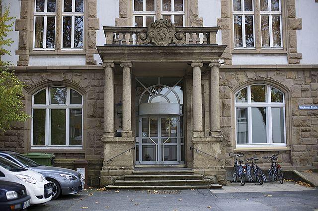 Unser Campusgebäude an der Stockumer Straße in Witten