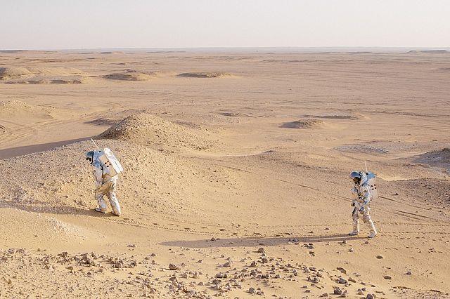 Analog-Astronauten. Foto: ÖWF (Florian Voggeneder)