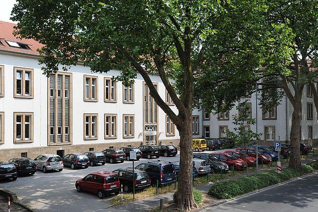 Unigebäude an der Stockumer Straße in Witten