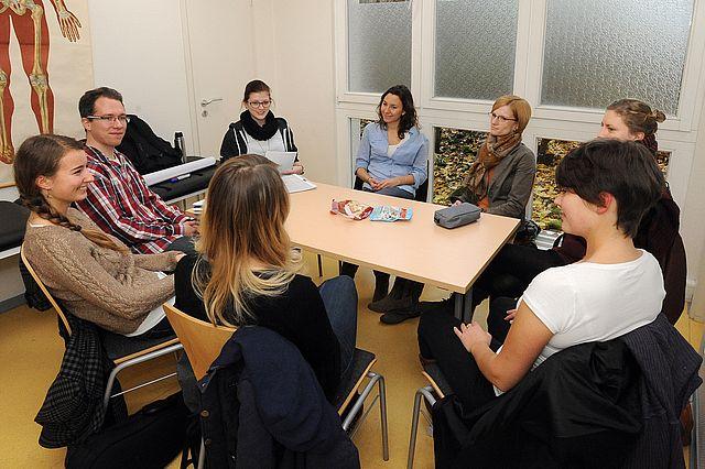 Studierende im integrierten Begleitstudium Anthroposophische Psychologie (IBAM/P)