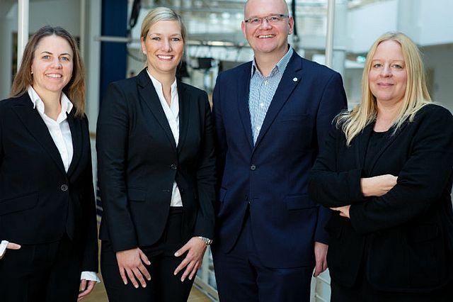 Das Team des Lehrstuhls für Management von Familienunternehmen