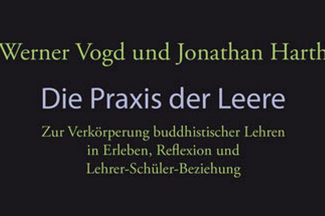Buchcover:Vogd/Harth:Die Praxis der Leere