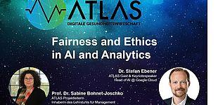 Das ATLAS-Team begrüßt Dr. Stefan Ebener, Head of AI bei Google Cloud