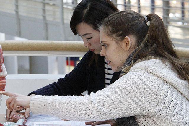 Studierende der Humanmedizin an der Universität Witten/Herdecke