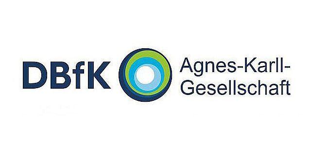 Logo Agnes-Karll-Gesellschaft in Kooperation mit dem DBfK