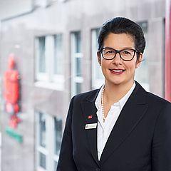 Andrea Psarski, Vorstandsmitglied des Kuratoriums der UW/H