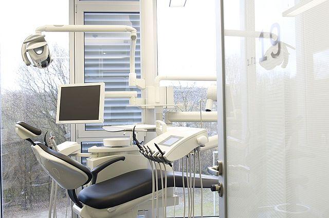 Alle Behandlungsräume sind zeitgemäß ausgestattet