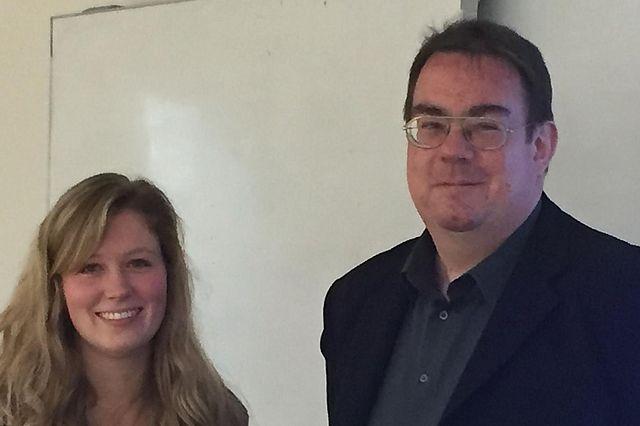 Berit Geis und Prof. Dr. Frank Krummenauer