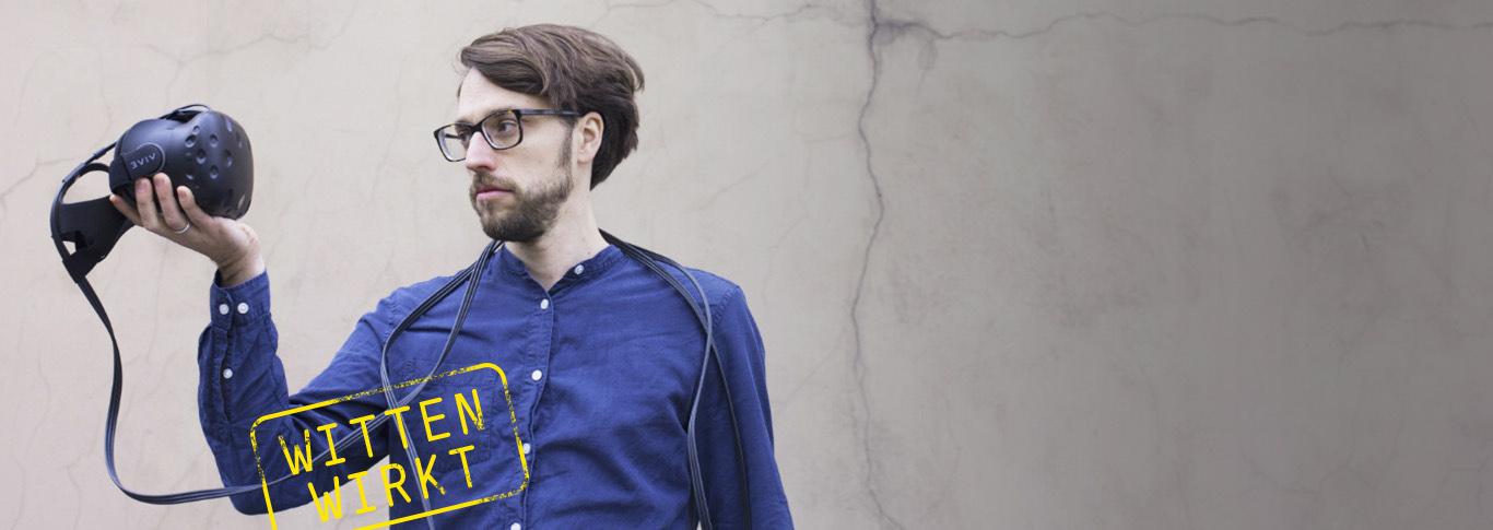Jonathan Harth, wissenschaftlicher Mitarbeiter am Lehrstuhl für Soziologie, berichtet über Forschung zu Computerspielen, virtuelle Welten und eine Verbindung zum Buddhismus.
