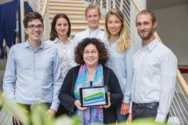das team der gesundheitsvisionre prof dr sabine bohnet joschko - Witten Herdecke Medizin Bewerbung
