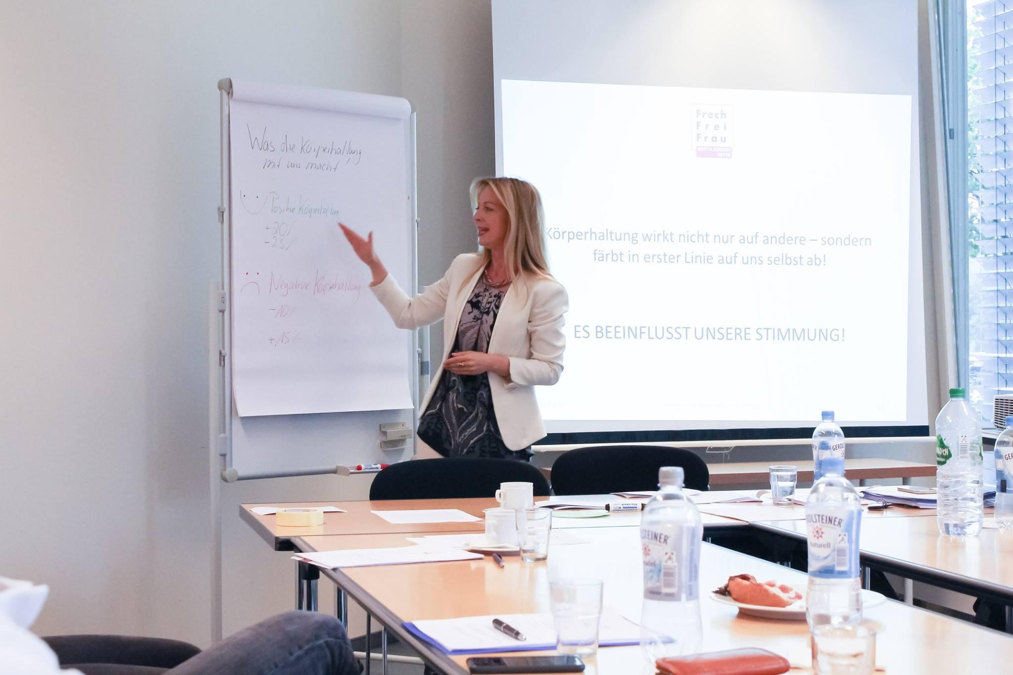 Körpersprache-Workshop im Rahmen des Talentprogrammes | Uni Witten ...